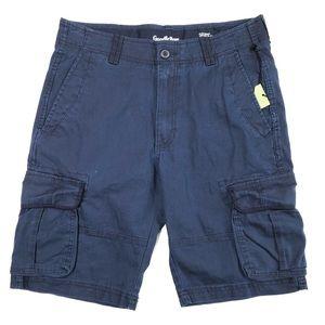 NEW Goodfellow Cargo Shorts Navy Blue